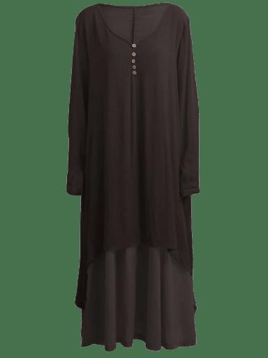 Romacci Boho Linen Dress | S - 5X