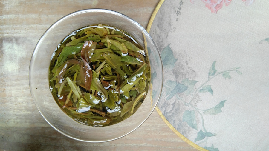 xi gui pu erh tea brewing