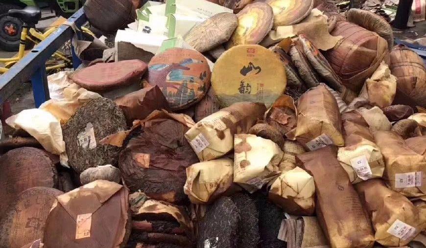 Tea Market Flooded by Typhoon Mangkhut: Guangzhou Fangcun