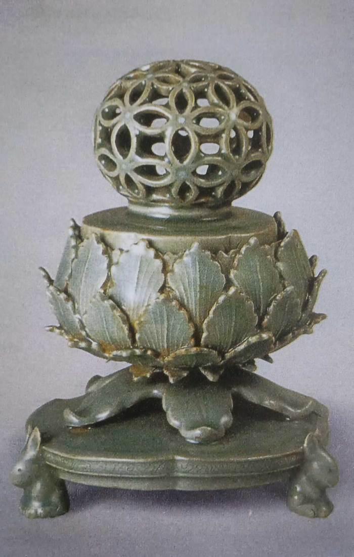 Koryo Celadon Incense Burner