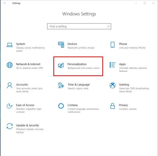 Windows Settings Light3