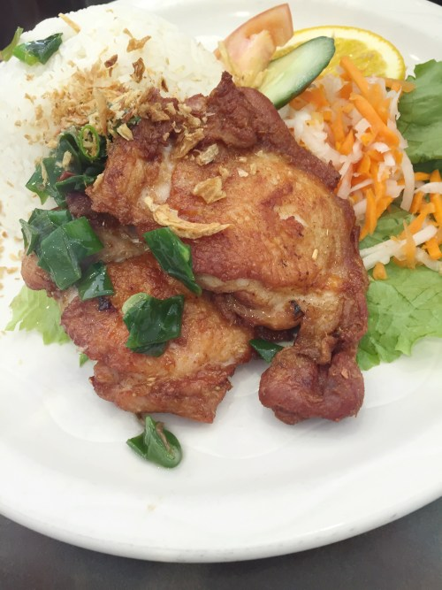 Vietnam Noodle Star - Deep Fried Chicken Fillet on Rice - HELLOTERI