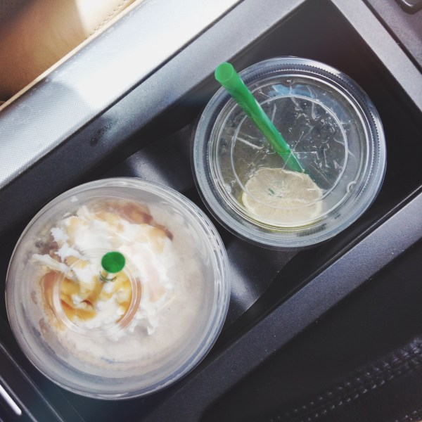 Starbucks - Caramel Frappuccino and Cool Lime Refresher - HELLOTERI