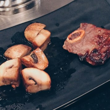 Mushroom + Beef Rib