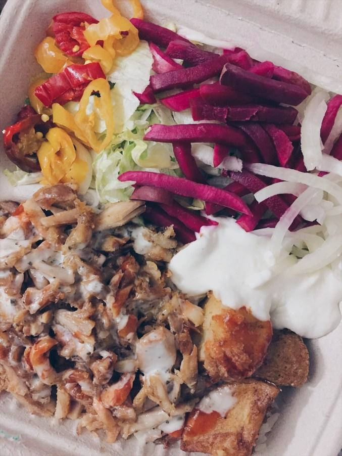 Toronto, Canada - Pita Land - Chicken Shawarma Plate - helloteri