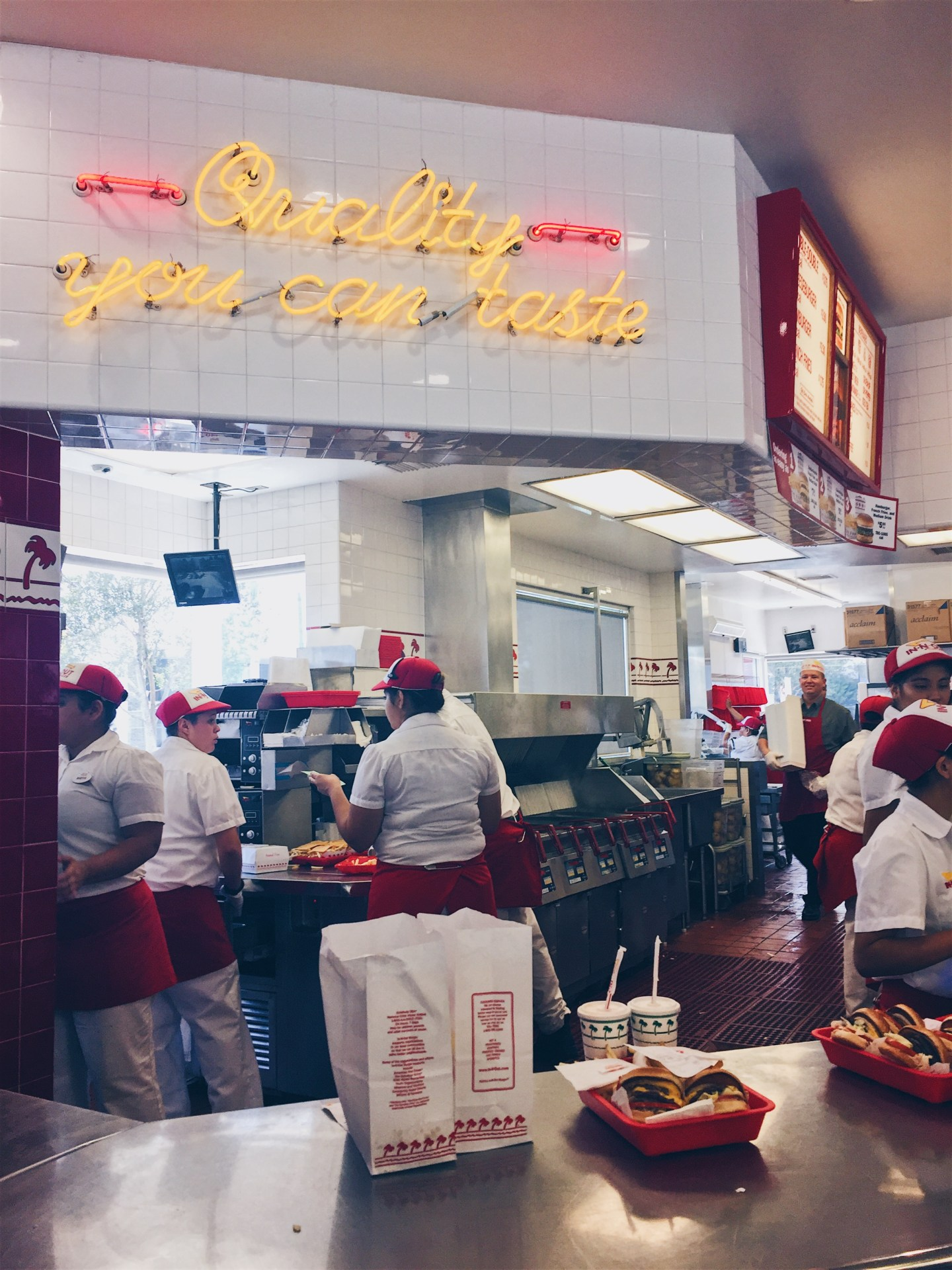 Los Angeles, USA - In N Out -