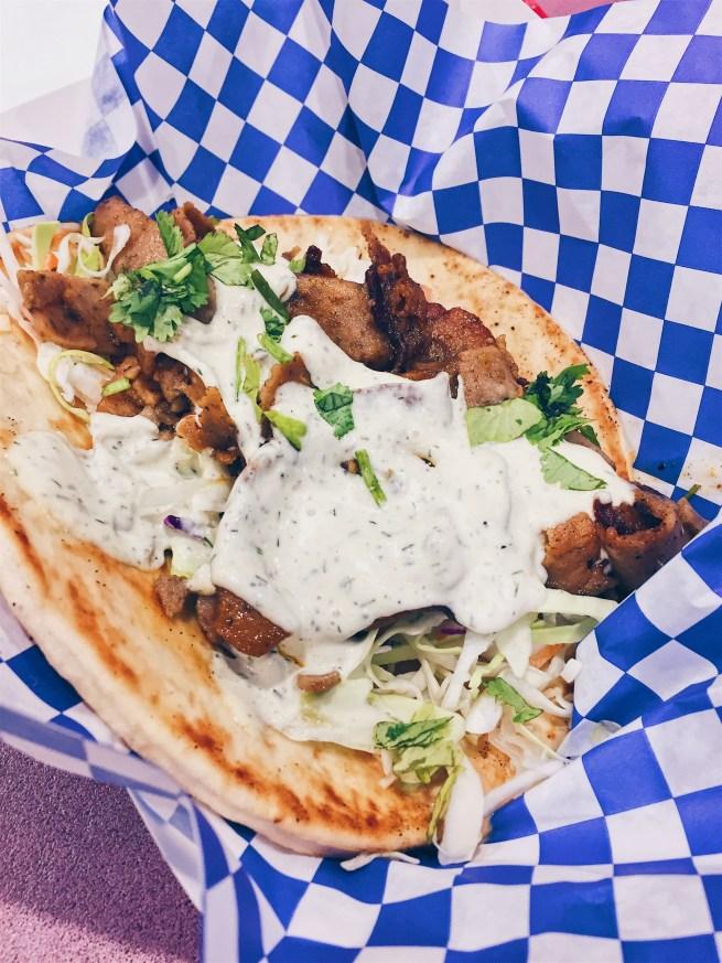 Los Angeles, USA - Middle Feast Food Truck - Lamb Shawarma - helloteri