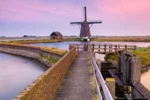 Poldermolen Het Noorden op Texel
