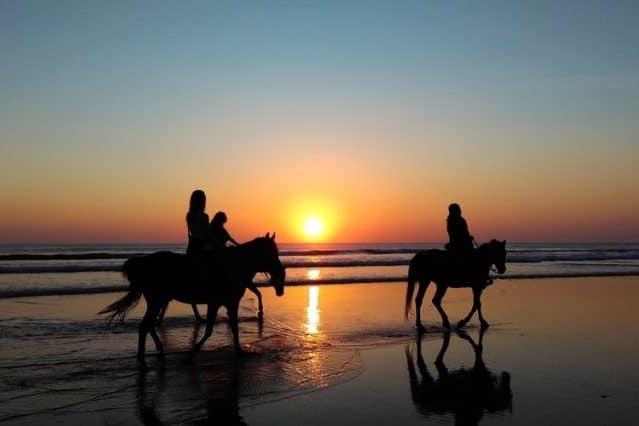 Sportiviteit paardrijden op Texel