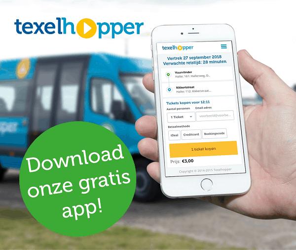 Texelhopper bus app Texel
