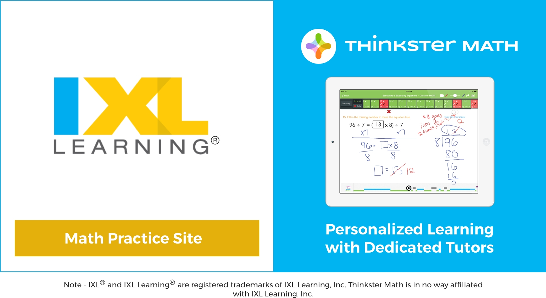 hight resolution of How does the IXL Math program compare to Thinkster Math?