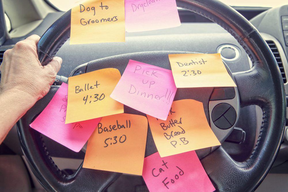 busy schedule parent