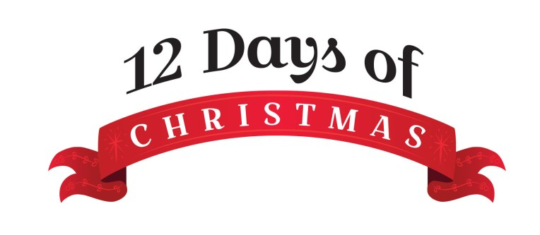 merry 12 days of christmas