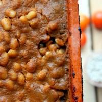 Baked beans, czyli pieczona fasolka w sosie pomidorowym