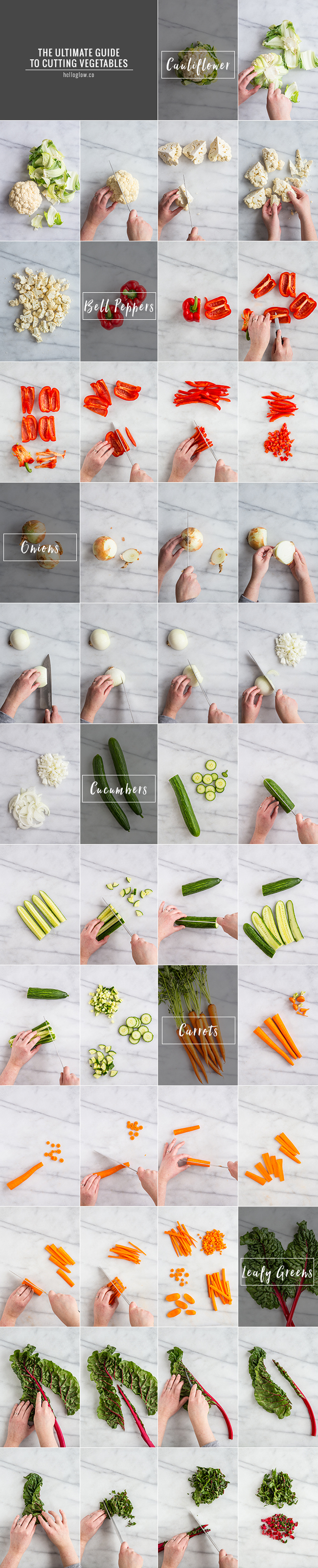 The Ultimate Guide to Cutting Vegetables