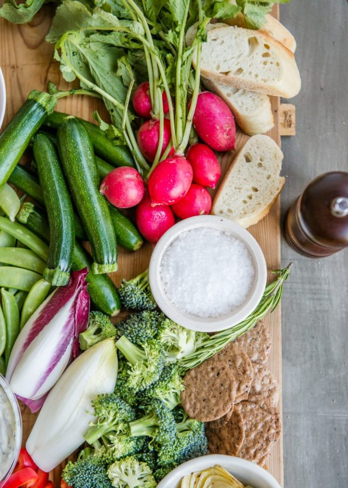 How to Build an Epic Crudité Platter
