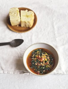 Tuscan Lentil & Grain Broth