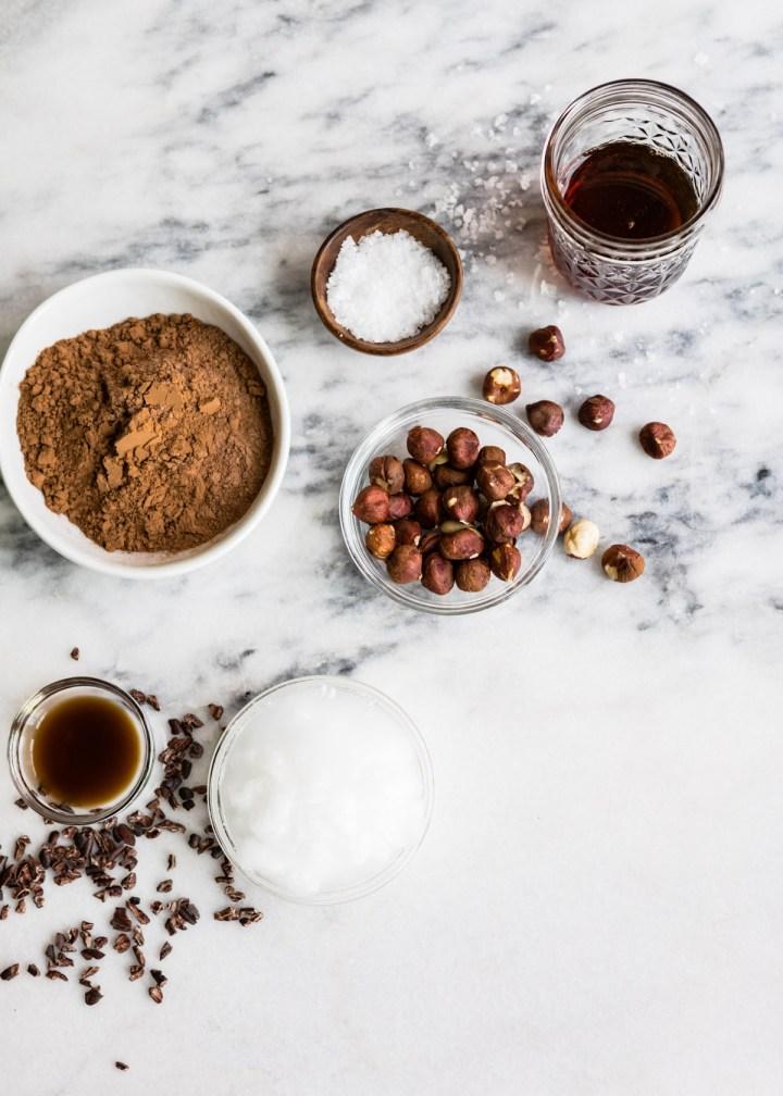 Vegan Chocolate Hazelnut Freezer Fudge