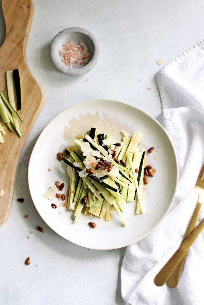 Warm Zucchini Salad with Brown Butter and Pine Nuts (and It's Keto!)