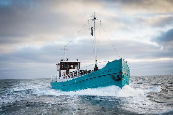 boot Vlieland naar Texel met Vriendschap