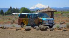 Vor Mount Shasta