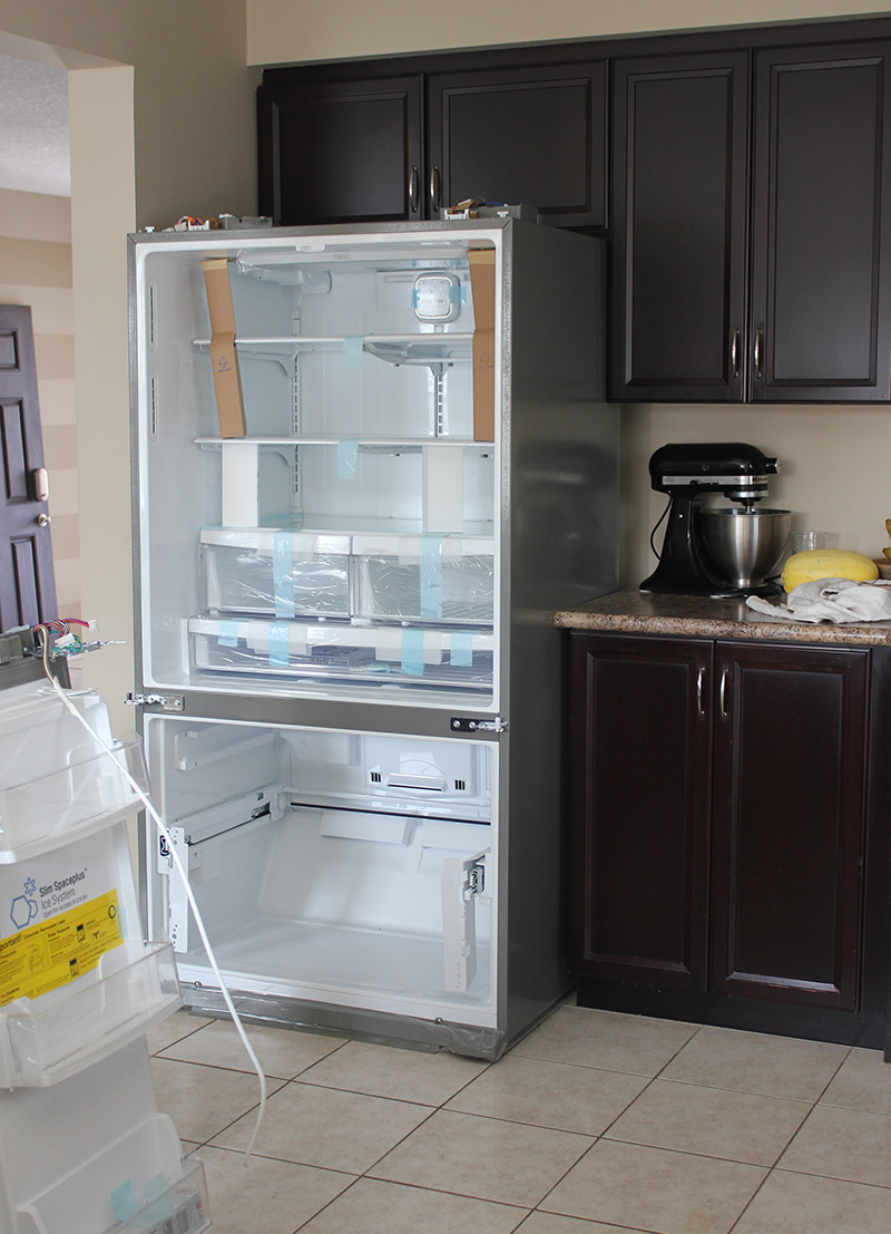 Upgrading to new LG door-in-door fridge