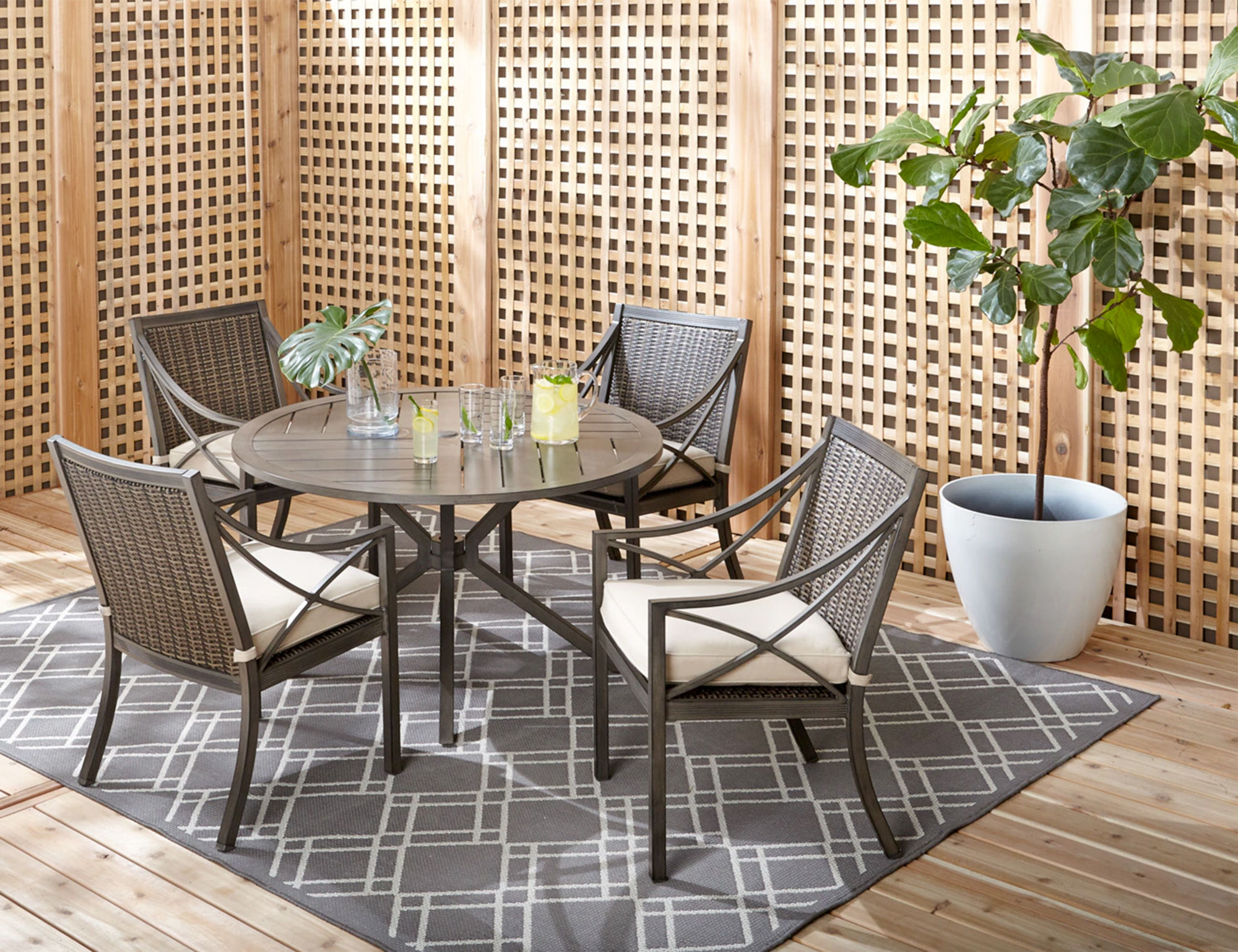 patio dining sets davenport balcony
