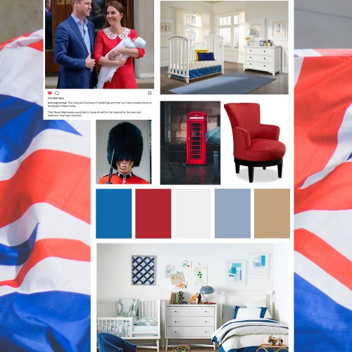 royal baby room decor inspiration mood board