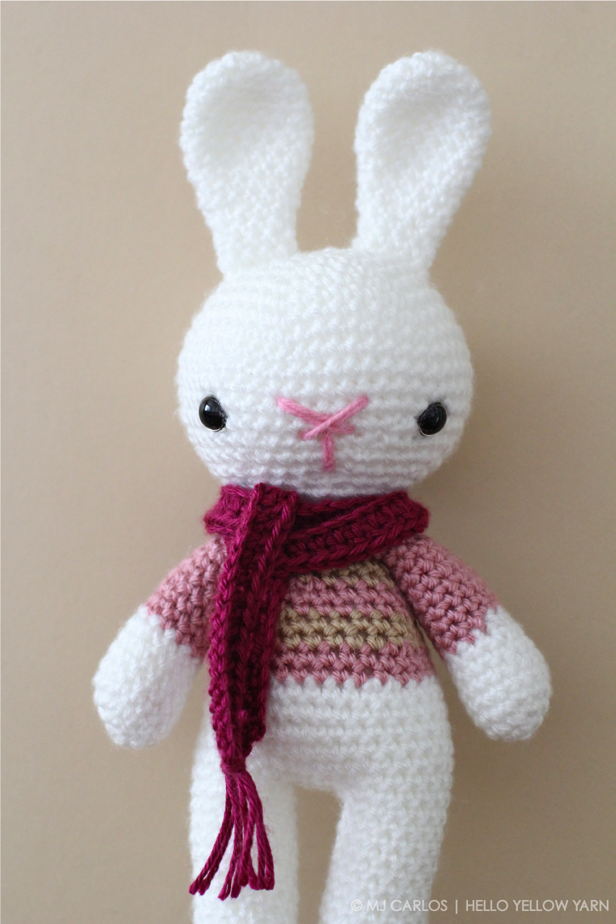 40 Free Crochet Bunny Patterns • DIY & Crafts | 1349x899