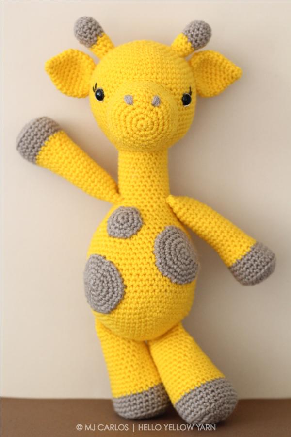 Tiny giraffe amigurumi pattern - Amigurumi Today | 900x600