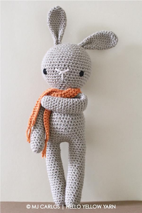 11 Crochet Bunny Patterns -Easter Fun - A More Crafty Life | 900x600