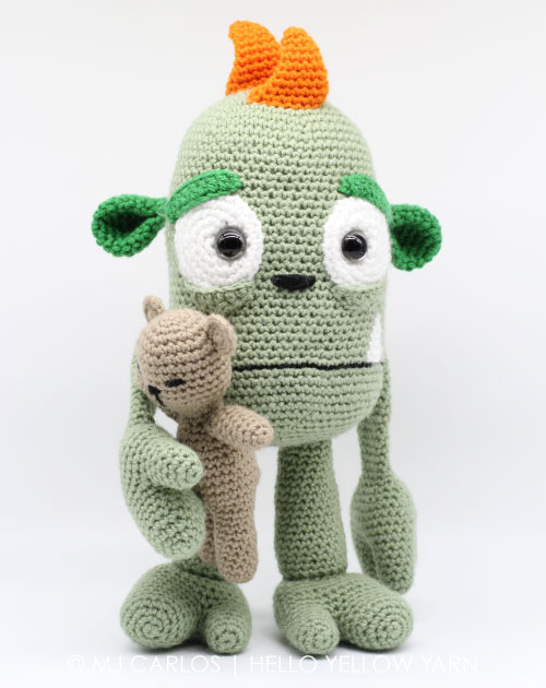 37 Adorable Amigurumi Crochet Patterns: Giraffes, Gnomes, Monsters ... | 630x500