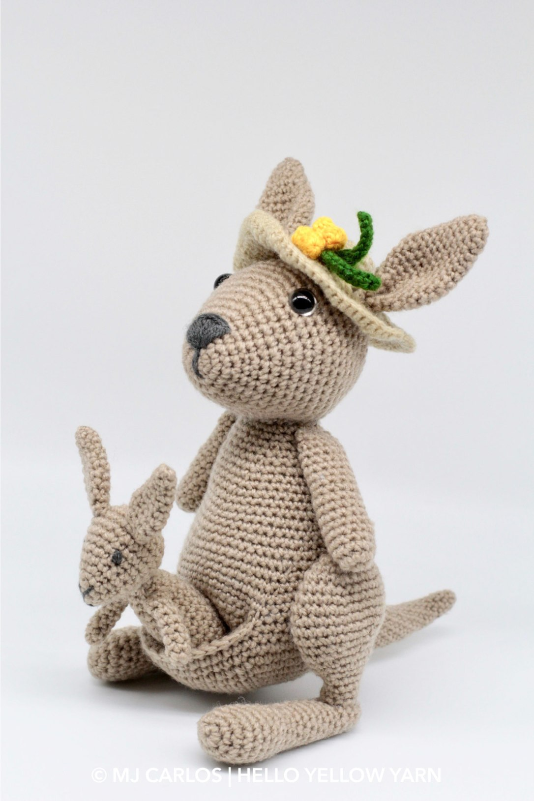 Kangaroo and Joey Amigurumi Pattern