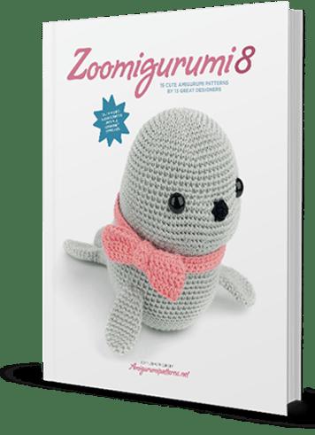 Amigurumi Animal Hat Crochet Patterns ~ Book Trailer - YouTube | 491x356