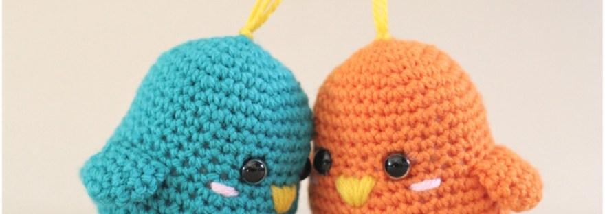 Amigurumi Spring Bird Crochet Free Pattern - Crochet & Knitting | 312x880