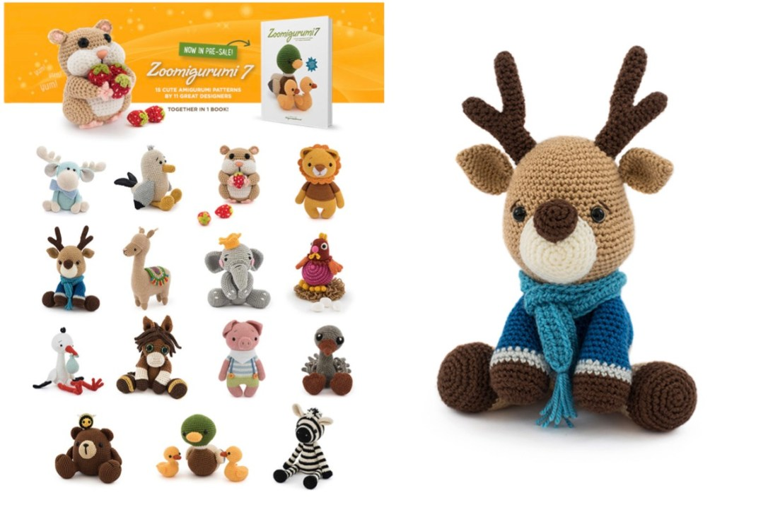 Zoomigurumi 6 | Amigurumi patterns, Crochet patterns, Crochet ... | 725x1086