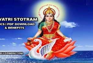 Gayatri Stotram- Lyrics PDF Download Laabh
