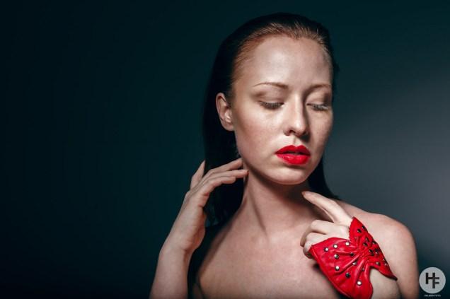 Beauty workshop with Neil Snape. Model: Nikoline Bangen