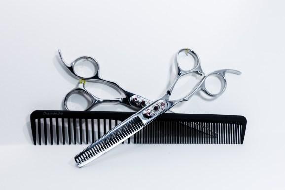 Produktfoto, reklame, frisørsaks, helmerfoto