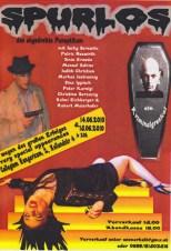 Das brandneue Plakat zu Spurlos. Wegen großen Erfolges übersiedelt das Stück in ein größeres Theater. (Foto: Archiv)