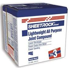 Joint Compound - Sheetrock