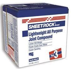Joint Compound - Sheetrock