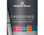 Benjamin Moore chalk board Paint