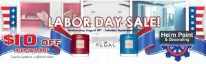 Helm Paint Labor Day Paint Sale