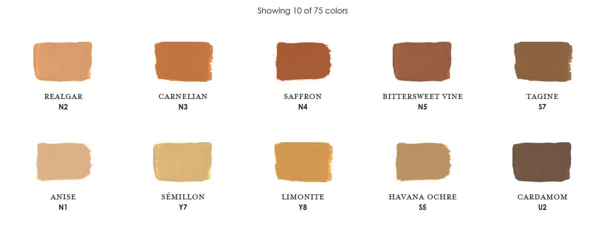 Copper Century Paint Colors