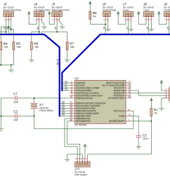computer joystick circuit diagram electronic circuits diagramcircuit diagram of pc joystick interface wiring diagram for you [ 1060 x 746 Pixel ]