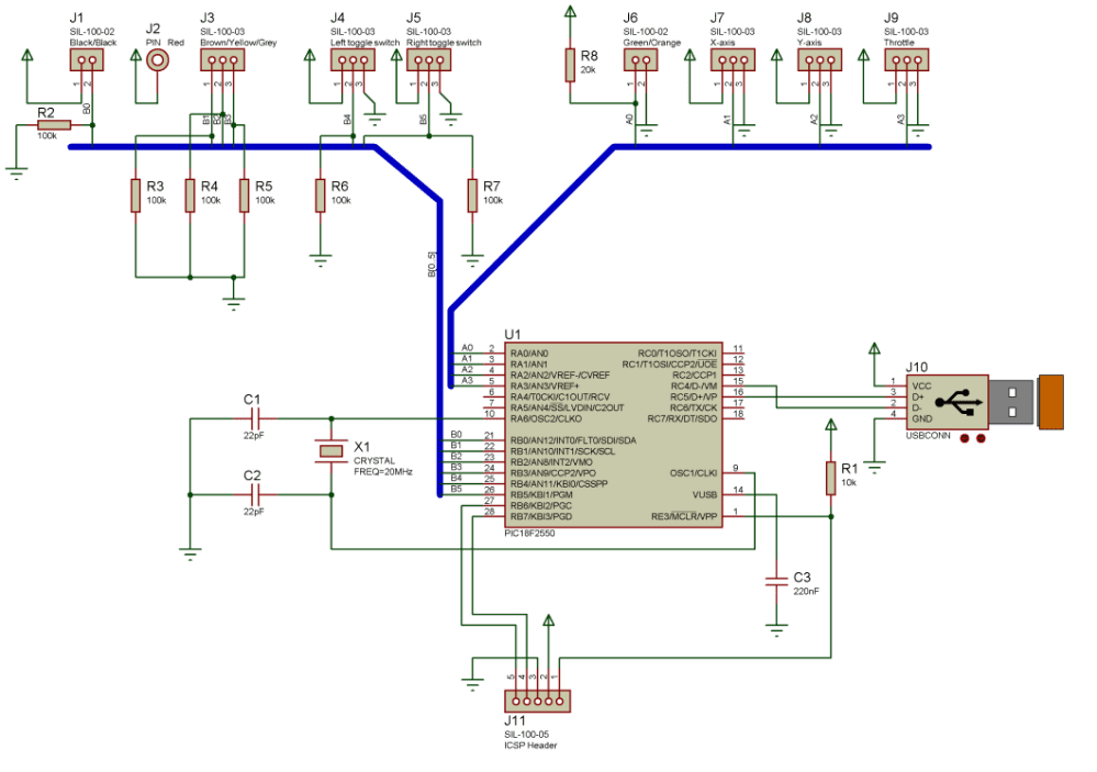 medium resolution of computer joystick circuit diagram electronic circuits diagramcircuit diagram of pc joystick interface wiring diagram for you