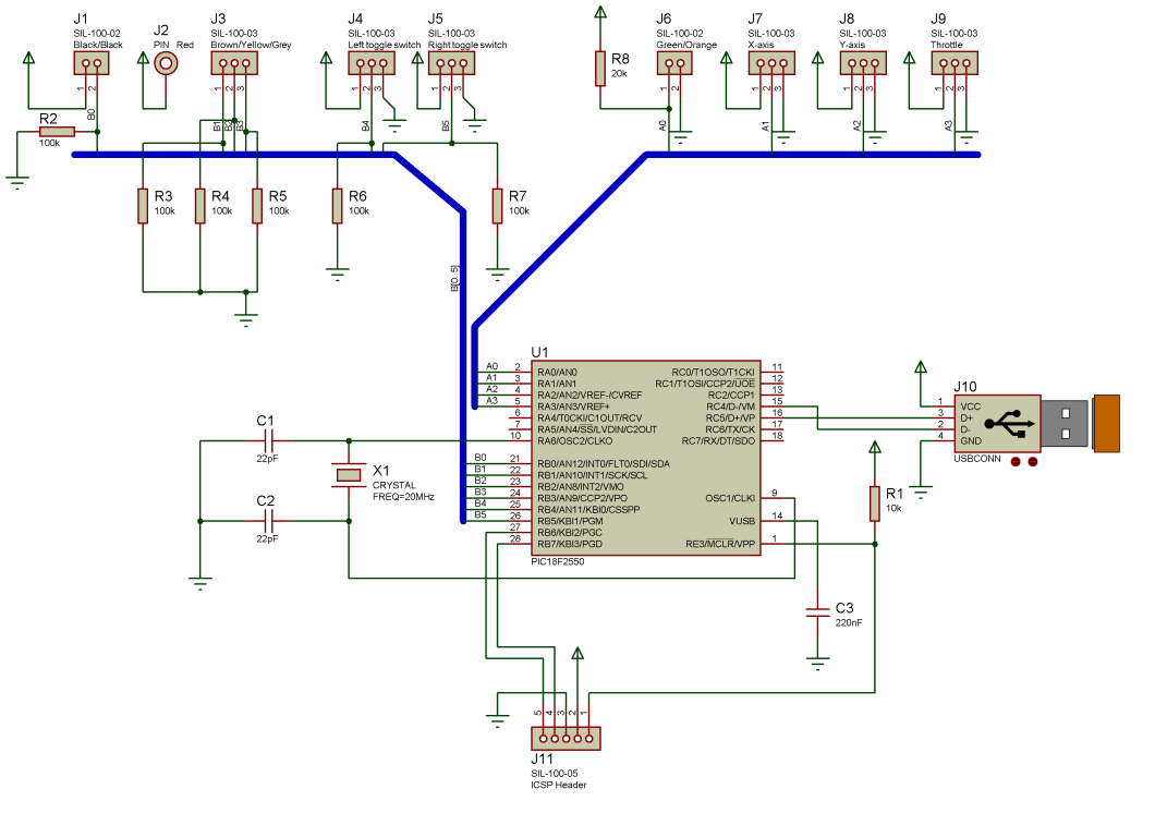 hight resolution of computer joystick circuit diagram electronic circuits diagramcircuit diagram of pc joystick interface wiring diagram for you