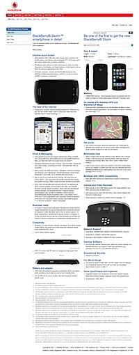 Blackberry iPhone UI Clone