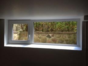 Neues Fenster mit ca. 30% mehr Fensterfläche und Schallschutzverglasung